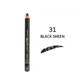 Astra Jumbo Glitter Black Sheen N 031