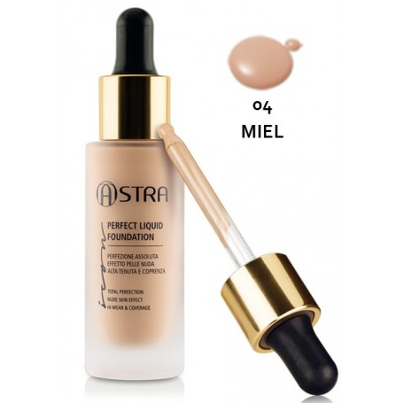 Astra Icon Perfect Liquid Foundation N°04