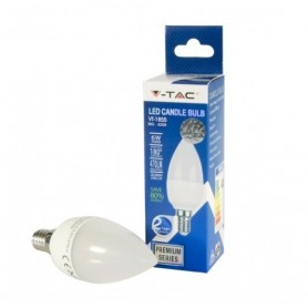 LAMP LED LUCE BIAN.FRED. 6W E14