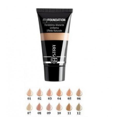 Astra My Foundation Effetto Naturale Beige N 004