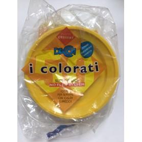 Piatti Dacca Dessert Gialli 50 Pz.