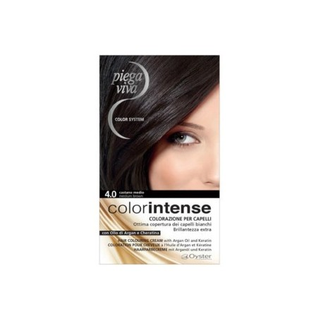 Piegaviva Color Intense Kit 4/0 Castano Medio