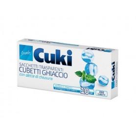 Cuki Sacchetti per Cubetti di Ghiaccio 10 pz