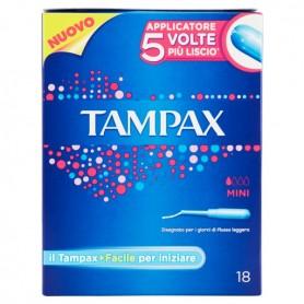 Tampax Assorbenti Mini Blu 18 Pz.