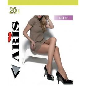 Aris Collant Elasticizzato 20 Den Velato Tg 1/2 Natural