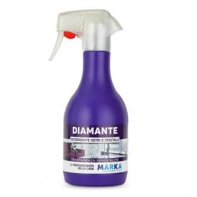 Marka Detergente Vetri e Cristalli Diamante 500 ml