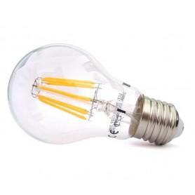 Eco Light Lampada a Goccia Trasparente A60 6W 2700K E27