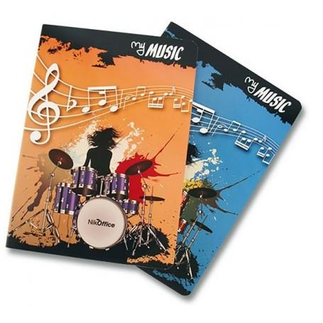 Nikoffice Maxi Quaderno Musica 16 Fg 100 gr