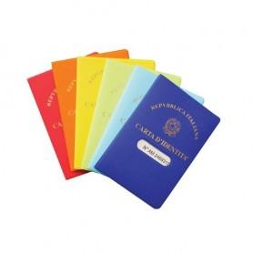 Tam Color Custodia Carta d'identità Colori Assortiti