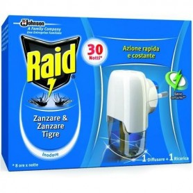 Raid diffusore + ricarica insetticida liquido