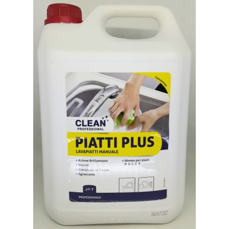 Clean Professional Piatti Plus 5lt