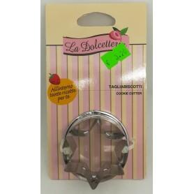 """Tagliabiscotti con presa """"La Dolcetteria"""" varie forme"""