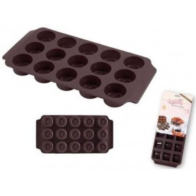 Forme per cioccolatini tondi in silicone