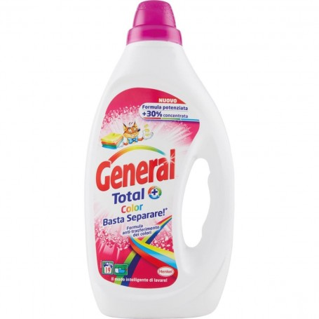 Detersivo liquido General Total Color 19 lavaggi
