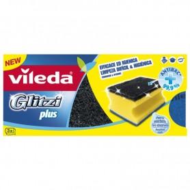 Spugne da cucina Glitzi Plus Vileda 3pz