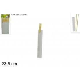 Bacchette Cinesi di Bamboo 6pz