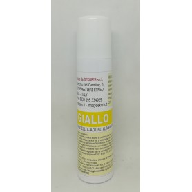 Spray Alimentare pastello Giallo 100ml