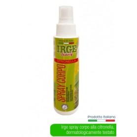 Spray corpo alla Citronella Irge 90ml