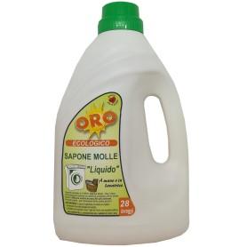 """Sapone Molle """"Liquido"""" Oro 28 lavaggi"""