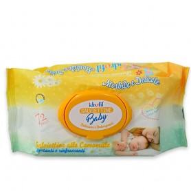 Salviettine detergenti Baby Idrofil 72pz