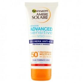 Ambre Solaire crema anti-età viso prot.50+