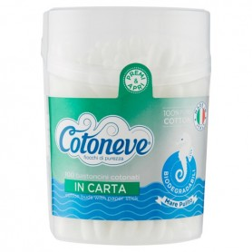 Cotton Fioc Cotoneve 100pz