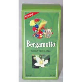 Bergamotto Acqua di Colonia Spray ml30